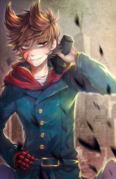 .:Fanart:. Eddsworld - Don't Mess With Me