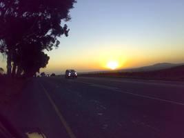 sunset by Nagila