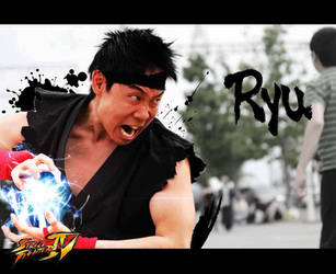 Ryu: Street Fight - Anime North 2012 by X110291