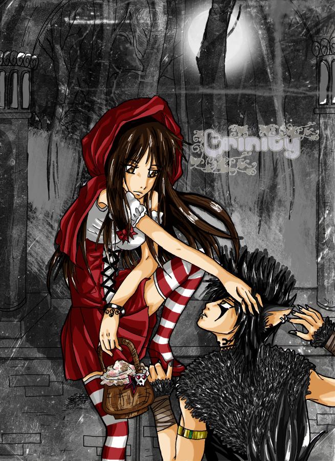 Little Red Riding Hood by OoTrinityCircusoO