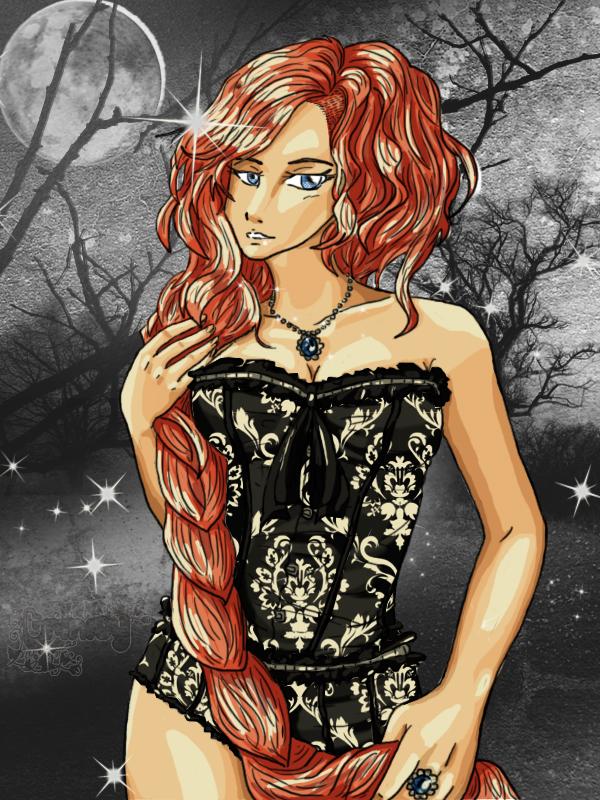 Gothic Rapunzel by OoTrinityCircusoO