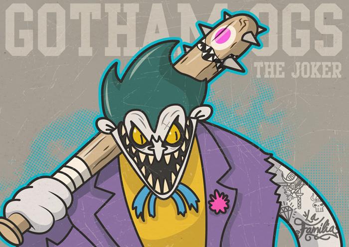 Gotham OGs: Joker by ExoesqueletoDV
