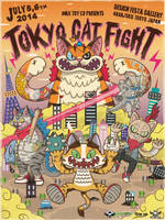Tokyo Cat Fight Poster