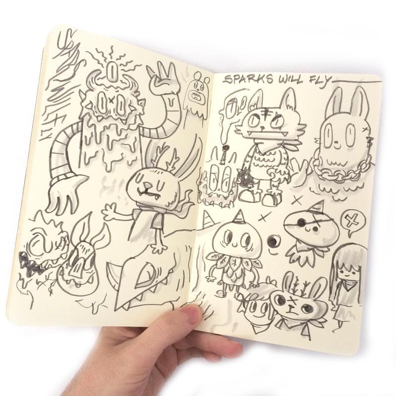 Random Doodles #1 by ExoesqueletoDV