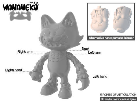 Making a Japanese soft vinyl toy! Wananeko!