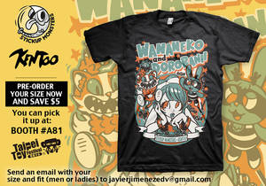 StickUp Monsters X Kentoo t-shirt