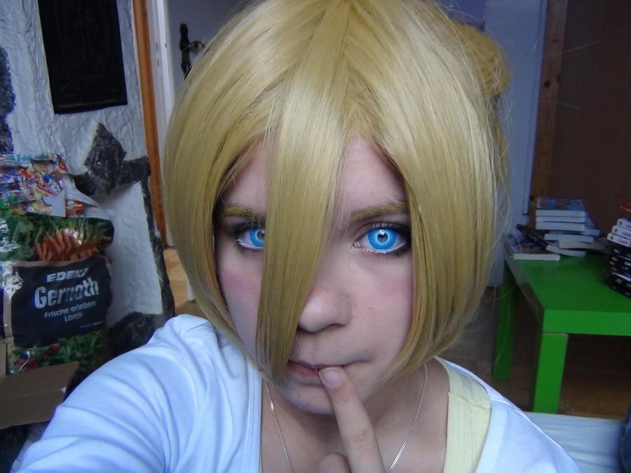 Kagamine Len: I'm not cute! by YanderuAyu