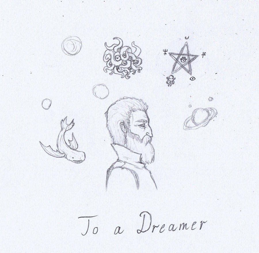 Lovecraft sketch 8 by svesamikreteni