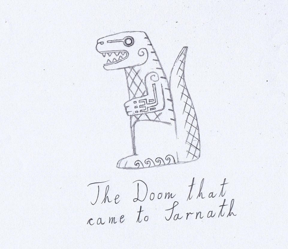 Lovecraft sketch 9 by svesamikreteni