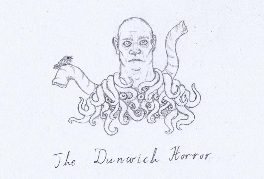 Lovecraft sketch 10 by svesamikreteni
