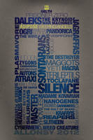 TARDIS typography by captain-snark