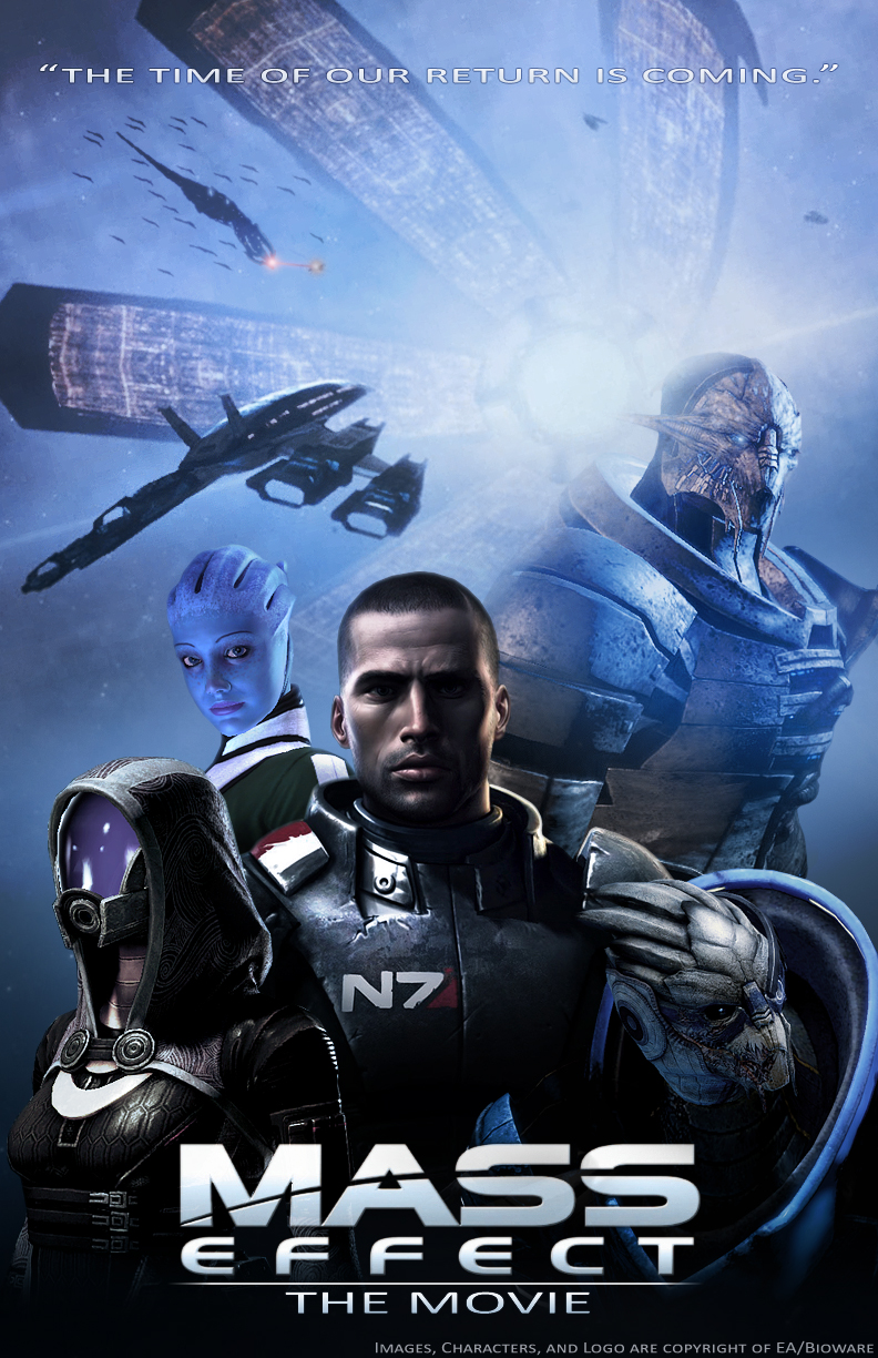 Mass Effect Movie Poster by AdventedOne