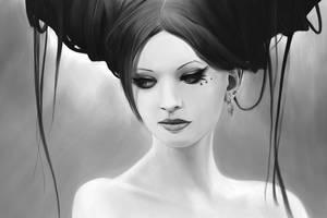 Vanity Portrait by AdventedOne