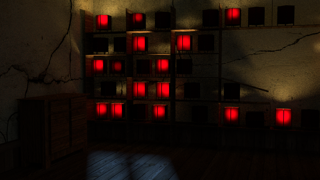 Candle Room by Triforceguard