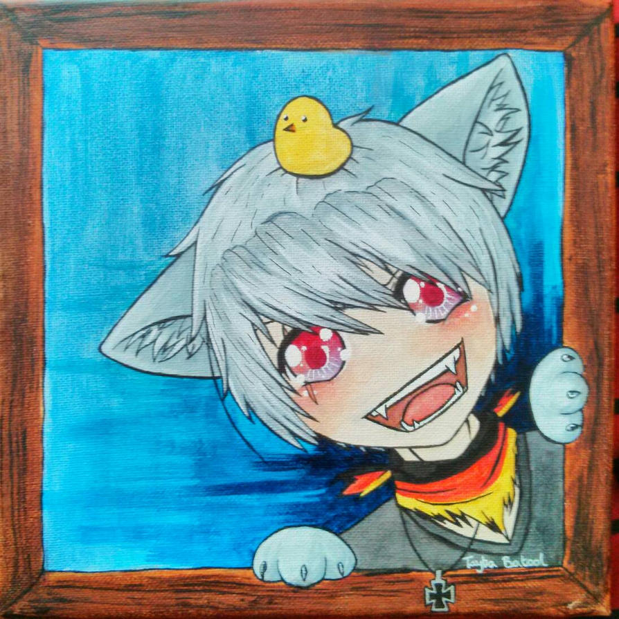 Prussia Canvas Painting Thing Lol By Taybabatool