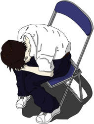 Shinji mad by SaNdCrAwLeR