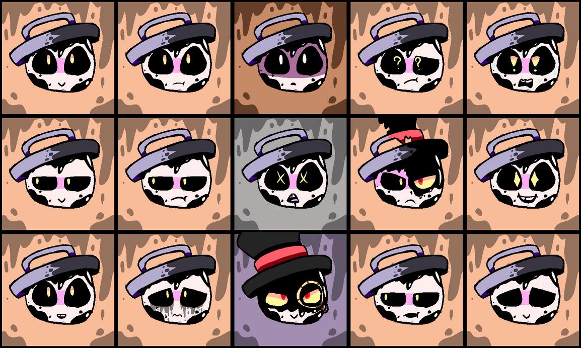 mendigon expressions by MendigoDasGalactas