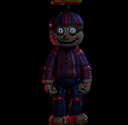 Balloon Boy (stylized ....i guess) by MendigoDasGalactas