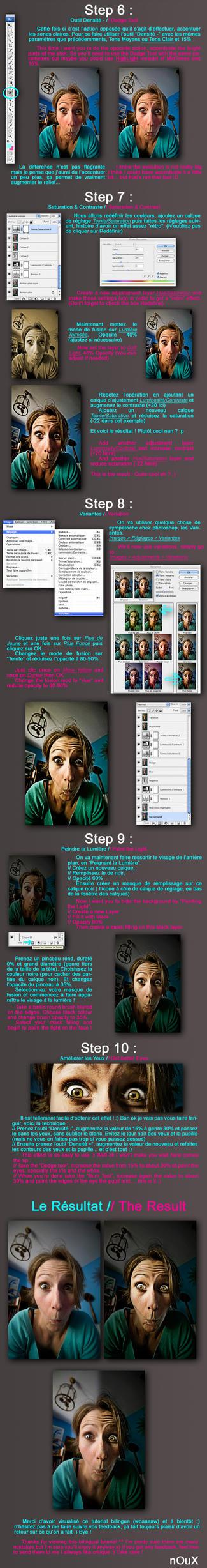 Dragan Portrait Tutorial PART2 by xnoux