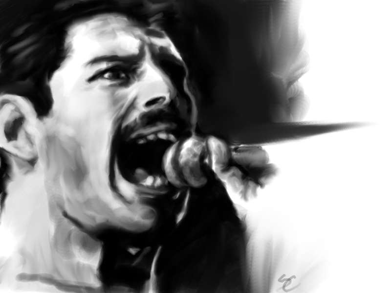 Freddy Mercury - The Show Must Go On by Aquila--Audax
