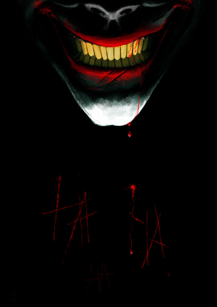 joker HA HA HA by Aquila--Audax
