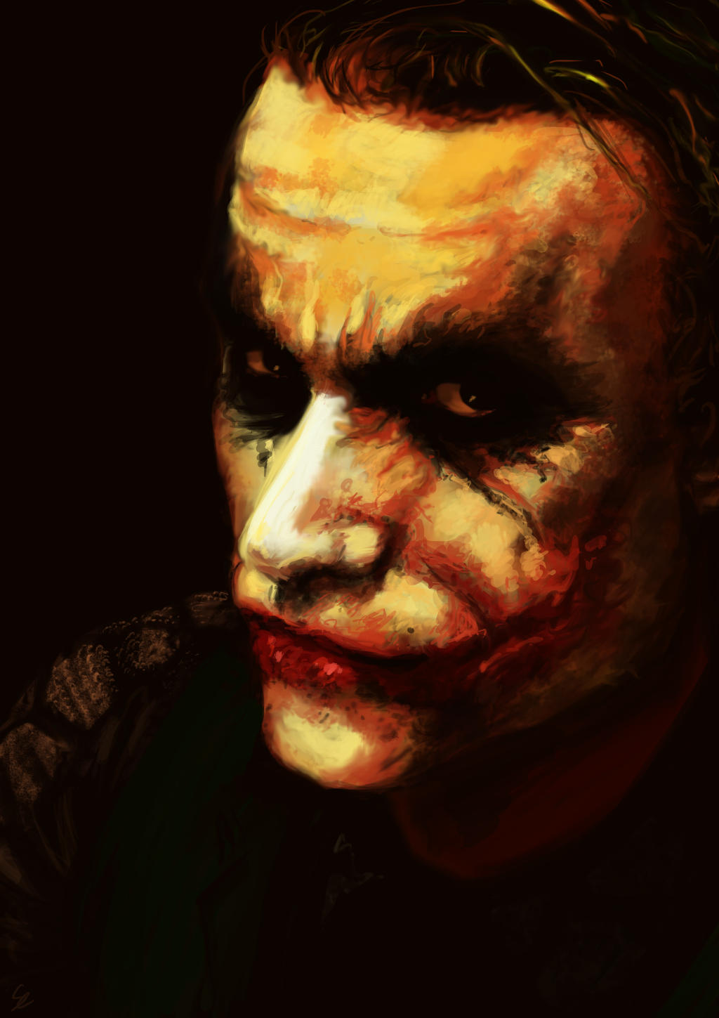 Joker Painting by Aquila--Audax