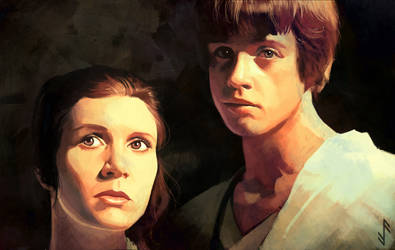 Twins Skywalker by Aquila--Audax