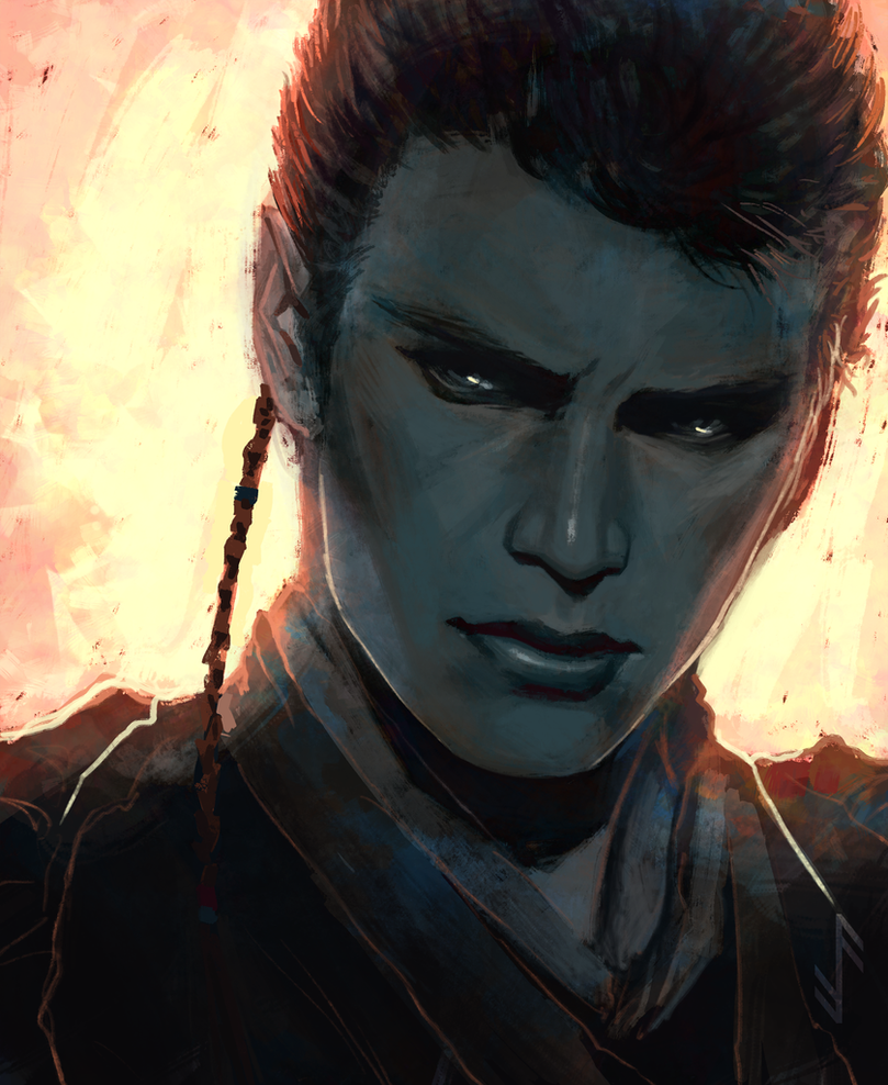 Burn - Anakin Skywalker by Aquila--Audax
