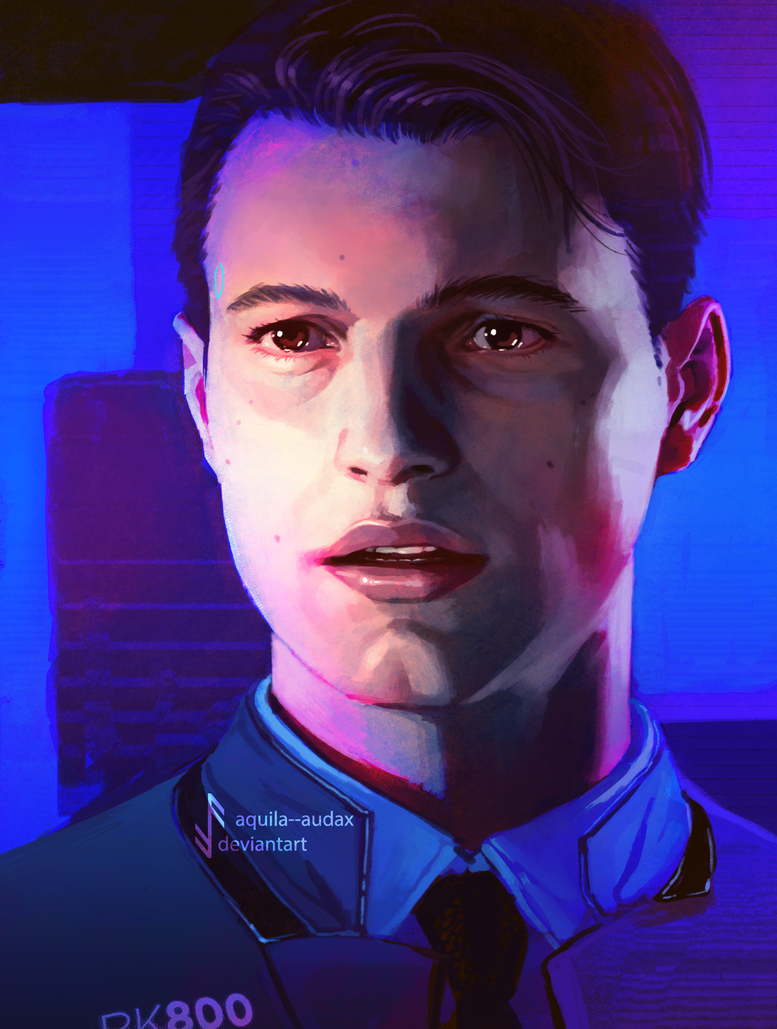 Alive - Connor RK800 by Aquila--Audax