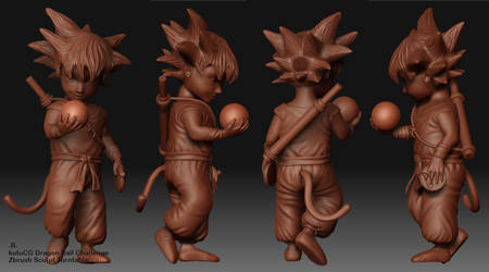 Dragon Ball 'Zbrush view 1' by Bobbyliauw
