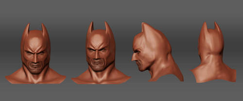 Batman 'Zbrush Grab' by Bobbyliauw