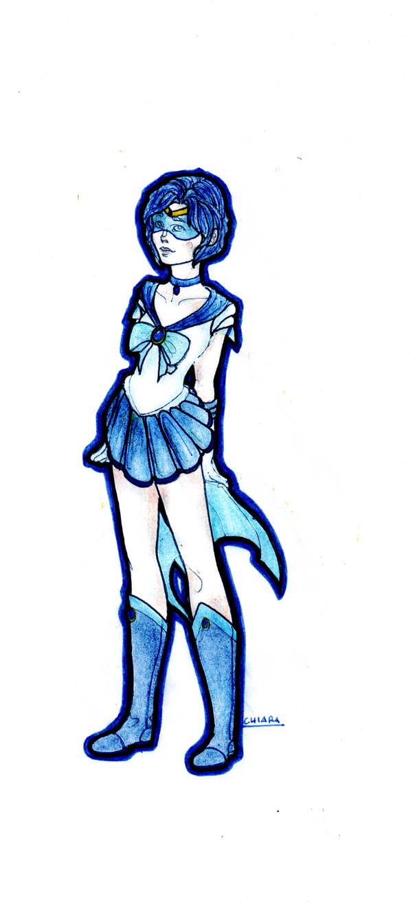 Sailor Mercury by Nenril-Tf