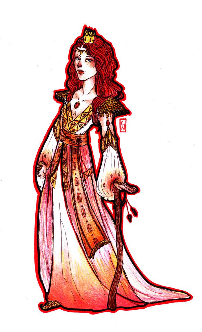 Glinda, The Good by Nenril-Tf