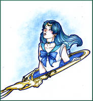 Sailor Neptune by Nenril-Tf