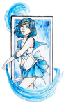 Sailor Mercury by Nenril-Tf