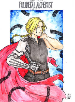 Edward Elric - COMMISSION