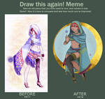 Desert Witch - DRAW IT AGAIN by Nenril-Tf