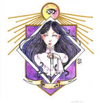 Fortune Teller - DRAW IT YOUR STYLE by Nenril-Tf