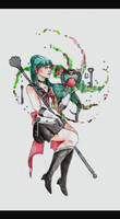 Sailor Pluto by Nenril-Tf