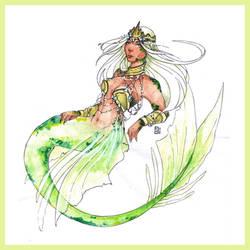 Atargatis, the mermaid Goddess - SUGGESTED