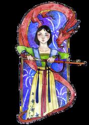 Mulan, the Warrior Woman