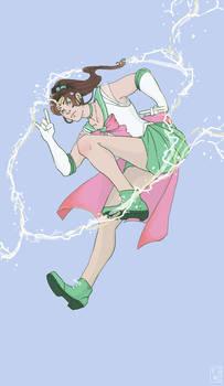 Sailor Jupiter: Tough and Romantic