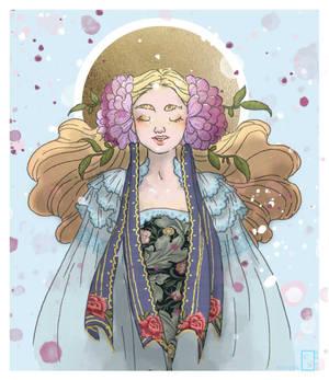 Flower Maiden - DIYS