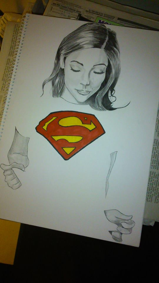 Pin Melanie Iglesias Superman T Shirt Youtube on Pinterest