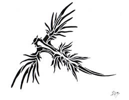 Glaucus Atlanticus Tribal by FrostyGorillaz