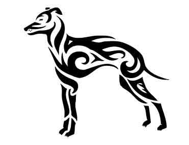 tribal italian greyhound by frostygorillaz on deviantart. Black Bedroom Furniture Sets. Home Design Ideas