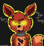 .:FanArt:. Foxy FNAF