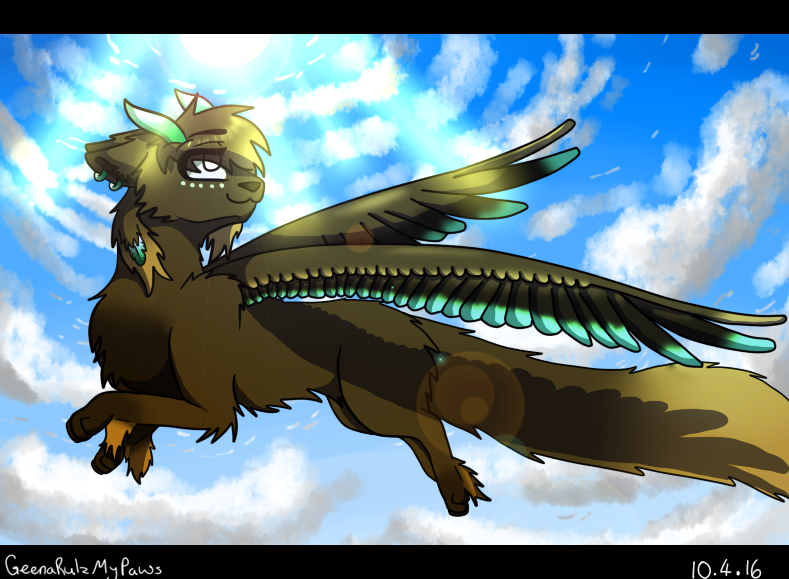 Fly High by GeenaRulzMyPaws
