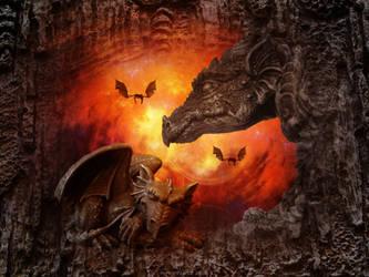 chrisn the dragon by HippieVan57