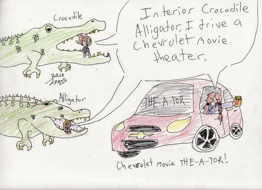 4 Interior Crocodile Alligator By XXdixonXx ...